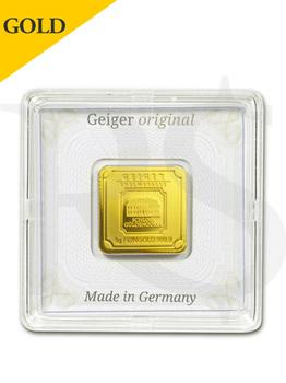 Geiger Edelmetalle (Original Square Series) 5 gram Gold Bar