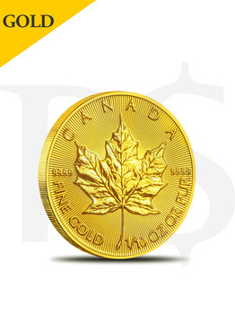 2018 Canada Maple Leaf 1/10 oz 9999 Gold Coin